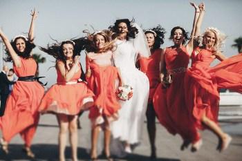 Best wedding photo: подружки невесты