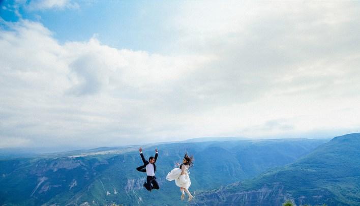 23 лучших свадебных фотографий в полете
