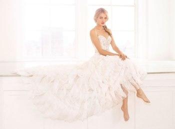 Основные фасоны свадебных платьев и типы фигуры