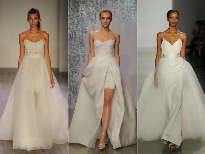 Главные тренды 2016 с подиумов Bridal Fashion Week