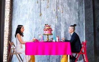 В индийском стиле: стилизованная фотосессия Рината и Евгении