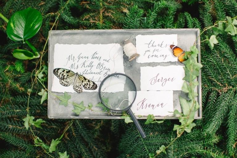 Бабочки в животе: стилизованная фотосессия