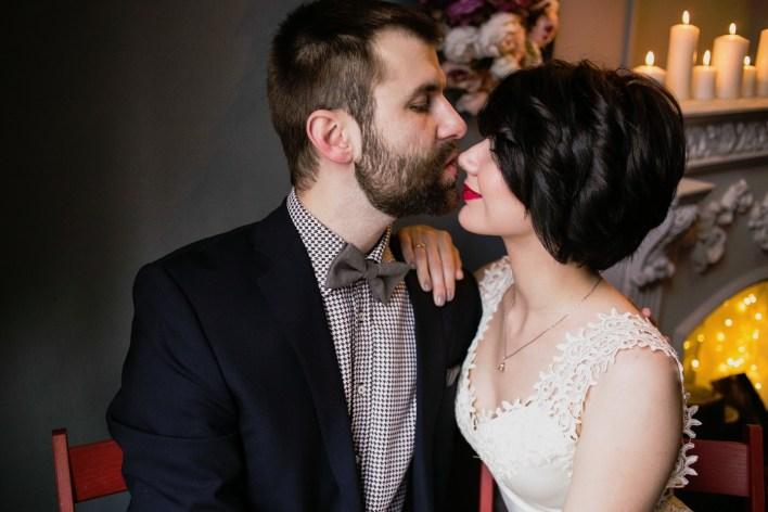 Проект «Лофт-свадьба»: стилизованная фотосессия