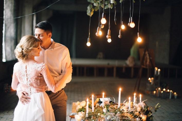 Вечер при свечах: стилизованная фотосессия