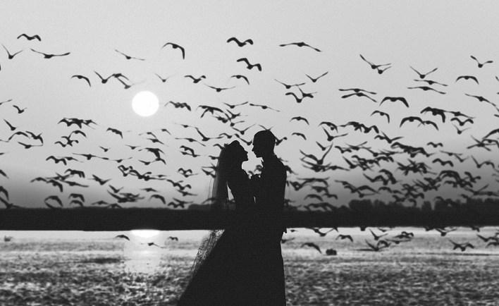 25 черно-белых незабываемых свадебных фотографий