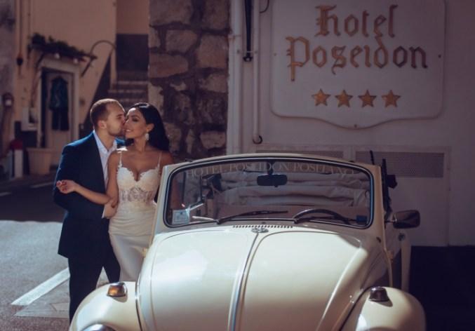 Жаркий Позитано: свадьба Айгуль и Андрея