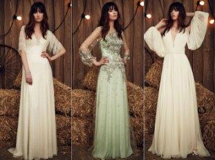 Коллекция свадебных платьев Jenny Packham весна 2017