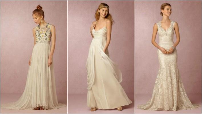 Коллекция свадебных платьев BHLDN весна 2017