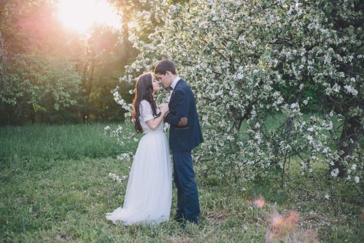 Цветочная мелодия: love-story Иры и Димы