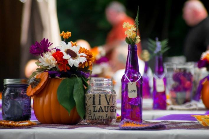 Декор осенней свадьбы: 30 идей