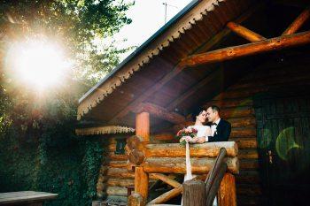 Теплая осень: свадьба Александра и Анны