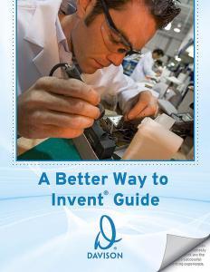 Davison Inventors Guide