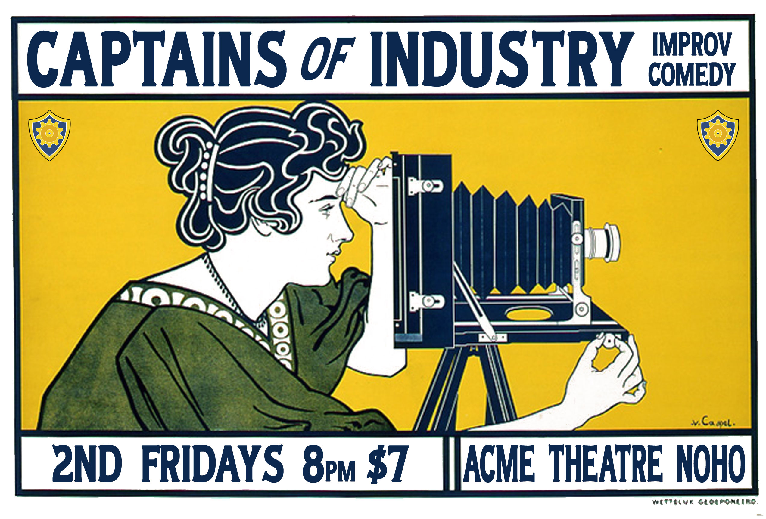 March 10th Captains of Industry Show Coming Up!