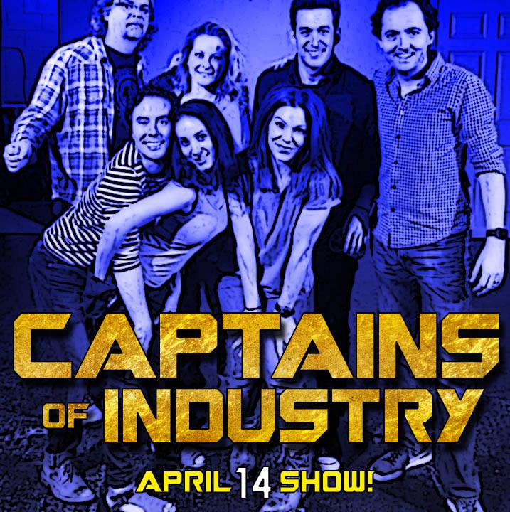 April 14th Captains of Industry Show Coming Up!