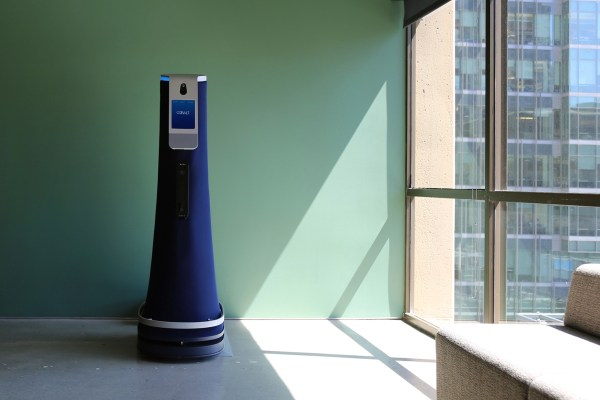 Bryan Goudsblom, CEO of Monjon, the company which proposed the robot trial in quarantine hotels, said data integrity would be critical for quarantine hotels. He expects any information gathered would be stored on servers in Australia. Image credit: Cobalt Robotics Inc.