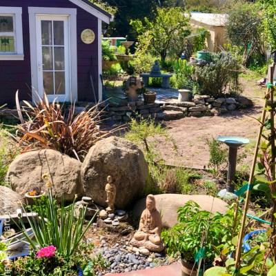Garden getting a granite buffer zone