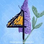 FOUR -- digital number art by lisa at the-compulsive-gardener