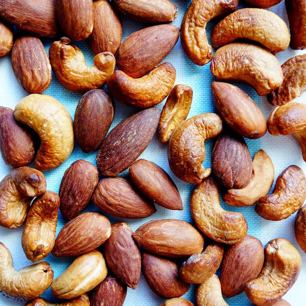 Perfect Dry Roasted Nuts