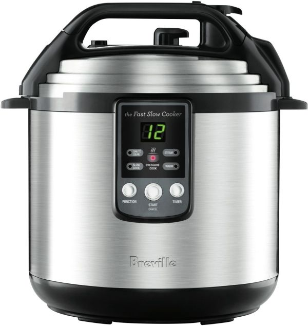 Breville BPR650BSS The Fast Slow 6L Pressure Cooker
