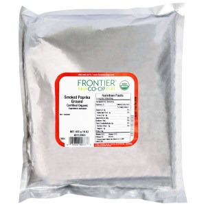 Frontier Natural Products, Organic, Smoked Paprika Ground