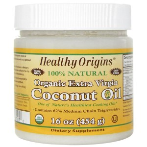 Healthy Origins, Organic Extra Virgin Coconut Oil