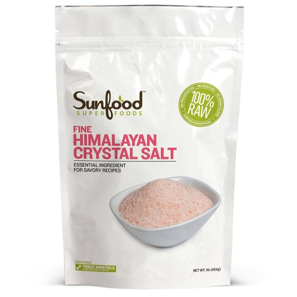 Sunfood, Fine Himalayan Crystal Salt
