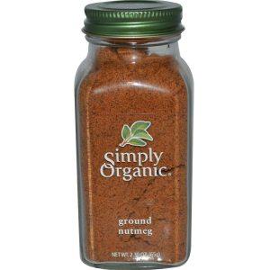 Simply Organic, Ground Nutmeg