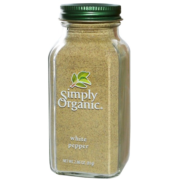Simply Organic, White Pepper