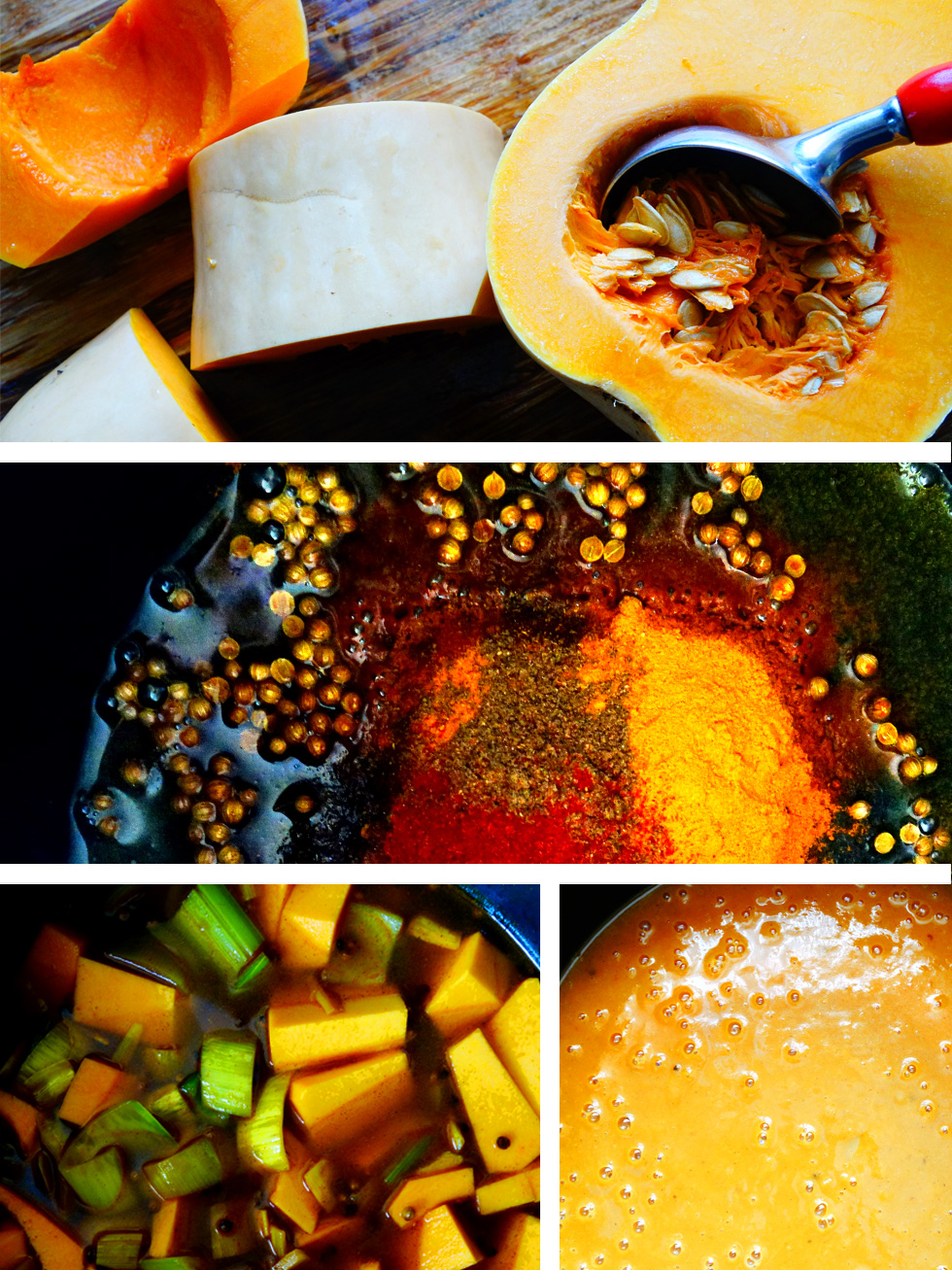 Curry Spiced Pumpkin Anti-Inflammatory Pressure Cooker Soup Ingredients Steps