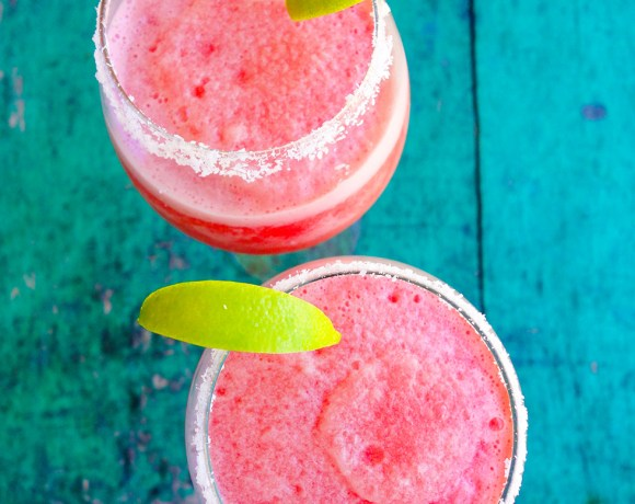 Virgin Watermelon Lime Margaritas