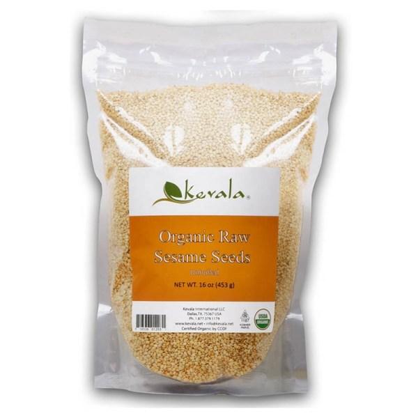 Kevala, Organic Raw Sesame Seeds