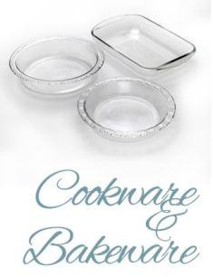JSG Oceana glass cookware