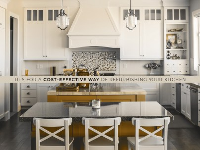 tips to remodel your kitchen