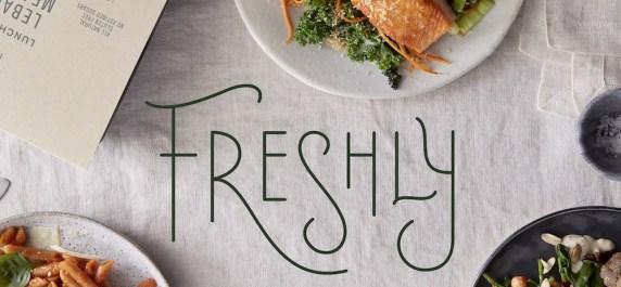 Freshly meal service