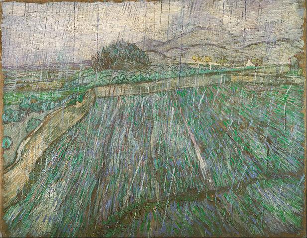 Vincent van Gogh, Rain, 1889