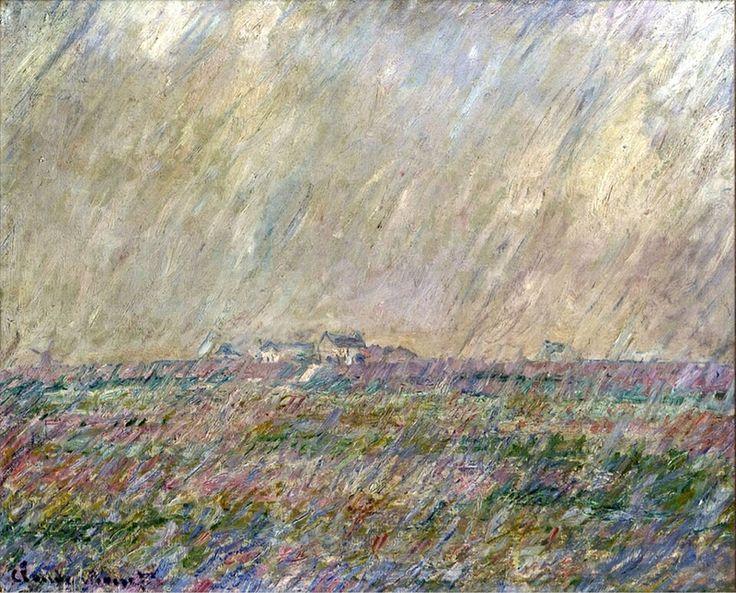Claude Monet, Rain, 1886