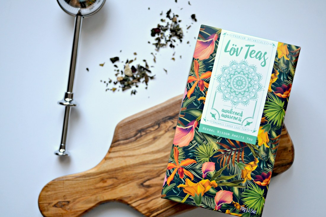 Lov Teas - Awakened Awareness - certified organic tea review | The Curious Button