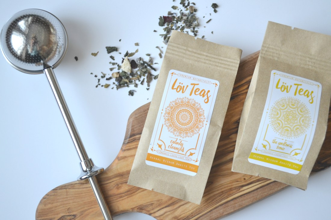 Lov Teas - Calmly Cleansed - certified organic tea review | The Curious Button