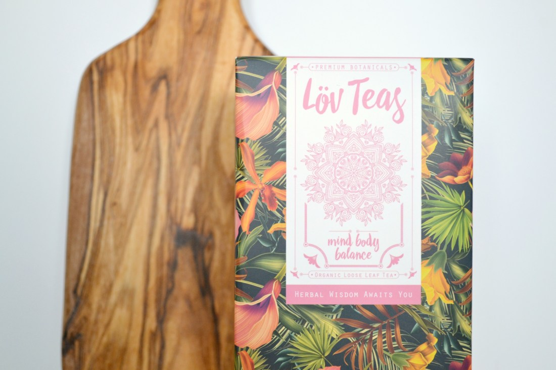 Lov Teas - Mind Body Balance - certified organic tea review | The Curious Button