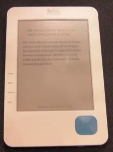 BEA 2010: Kobo e-Reading Hardware