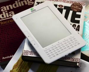 India's Wink XTS e-reader is the Hanlin V60 e-Reading Hardware
