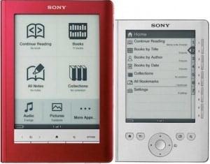 New Sony Library hints at PRS-950 e-Reading Hardware