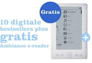 Buy 10 ebooks from bol.com, get a free e-reader eBookstore