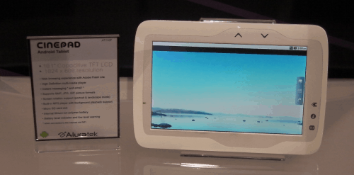 CES: Aluratek e-Reading Hardware