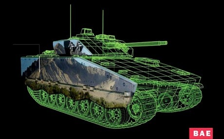 On that tank with E-ink camouflage Uncategorized
