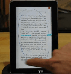 First look at Kobo's new note taking ability e-Reading Software Kobo