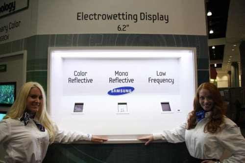 "Samsung unveil a 10"" MEMS demo at SID Display Week e-Reading Hardware"