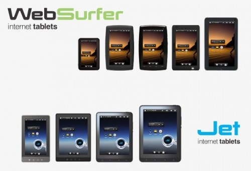 Slick e-reader to get Android tablet siblings e-Reading Hardware