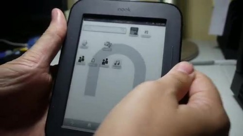 Nook Touch has Bluetooth, now runs ADW Launcher (video) e-Reading Hardware