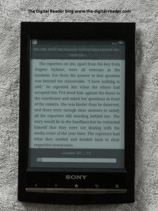 Sony Reader Wifi Hacked - Now Runs Kindle, ezPDF, and more (video) e-Reading Hardware